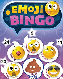 Emoji Bingo Ticket